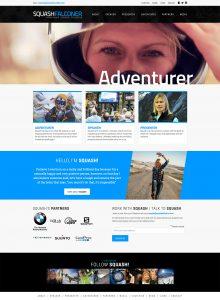 Squash Falconer Website